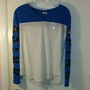 VS PINK sequin long sleeve shirt